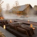 Termální lázně a prostor k relaxaci