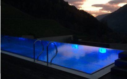 Večer v bazénu