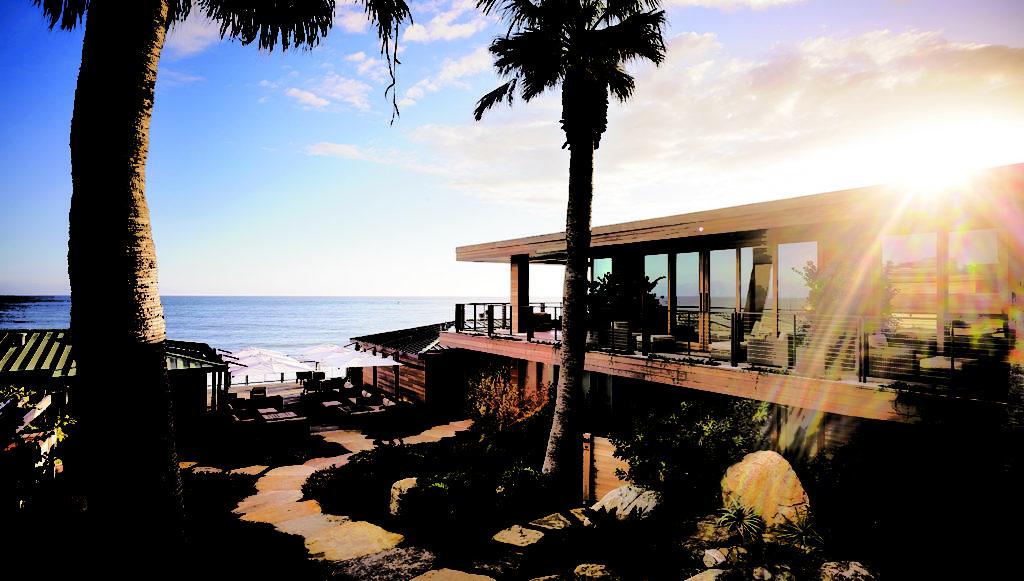 Nobu Ryokan, Malibu: mix tradičního amerického motelu s tradičním japonským zájezdním hostincem
