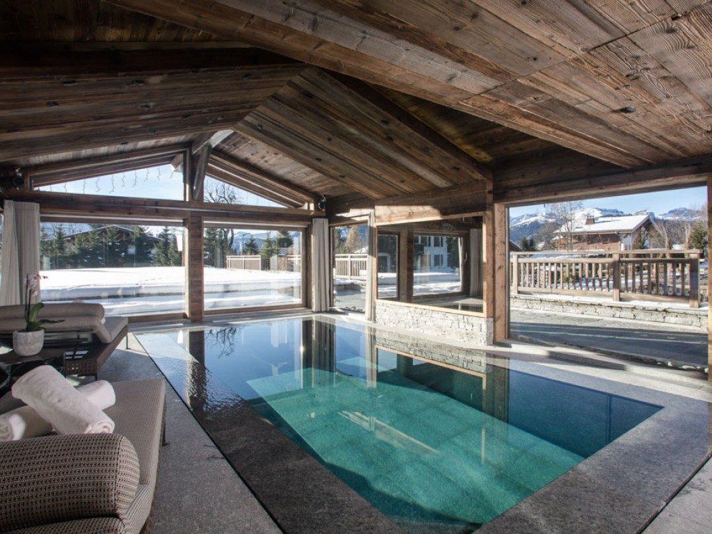 Chalet Des Sense, vnitřní bazén