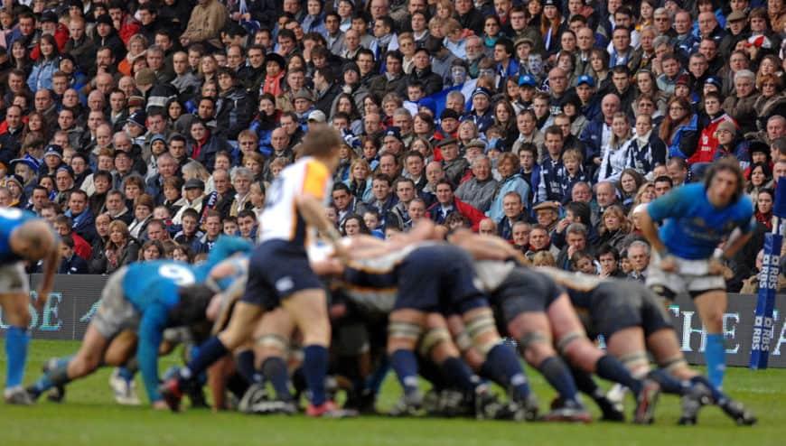 Anglie - Itállie; jako jedno tělo před plnými stadiony - to je špičkové rugby