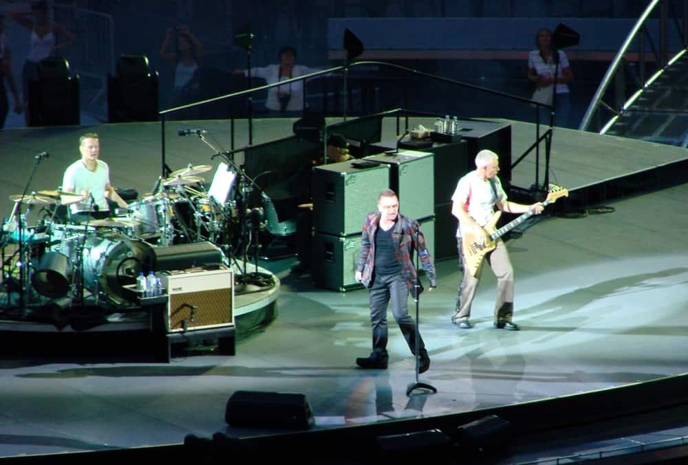 U2 na svém zatím posledním turné