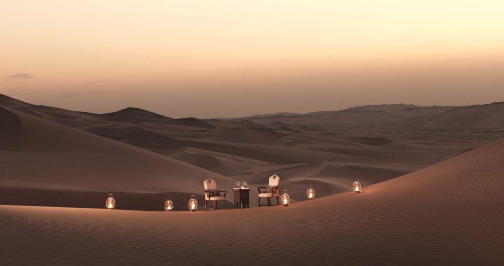 Večeři si tu můžete nechat uspořádat přímo mezi dunami