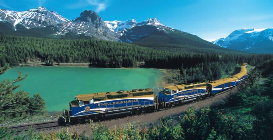 Rocky Mountaineer: pohodlná cesta kanadskou divočinou