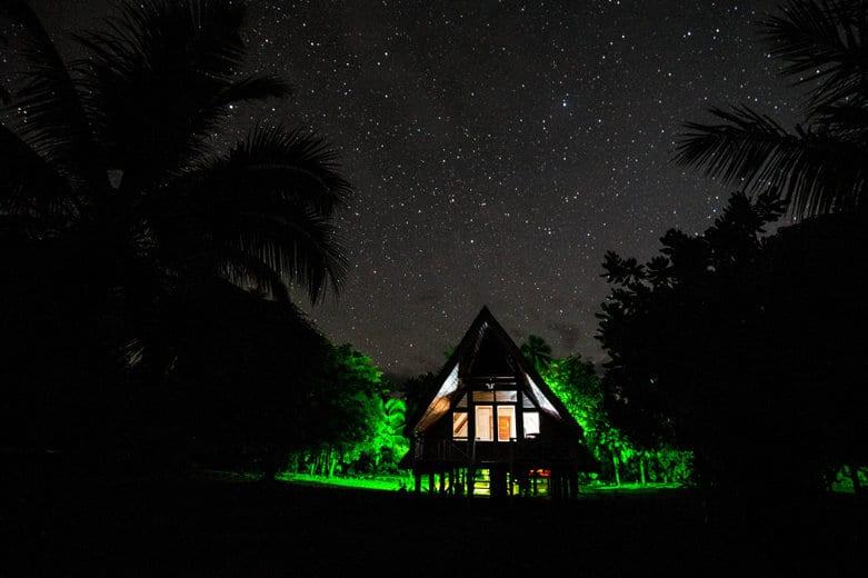 Alphonse Island: Bungalov pod hvězdami