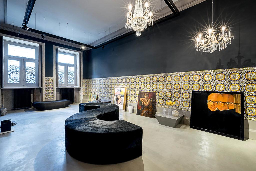 Palácio Fenizia: galerie
