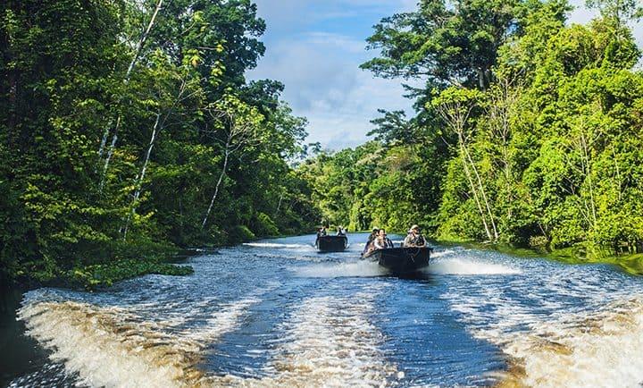 Aria, Amazonka: spoustu času strávíte na výletech mimo loď
