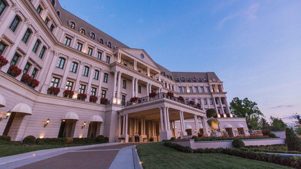 Nemacolin, Pensylvánie: hotel Chateau Lafayette se inspiroval pařížským Ritzem