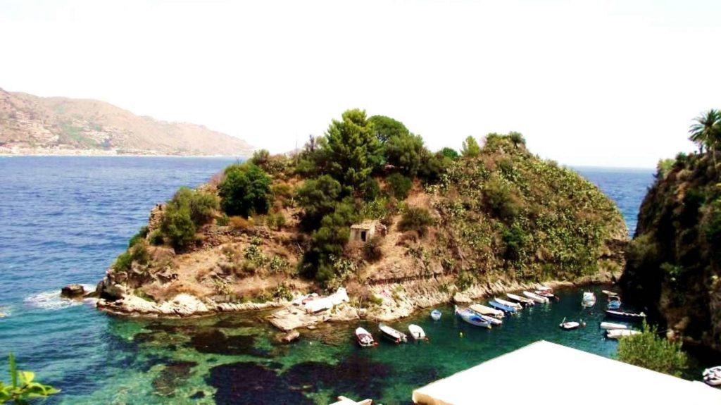 Ostrov Sirén, Sicílie