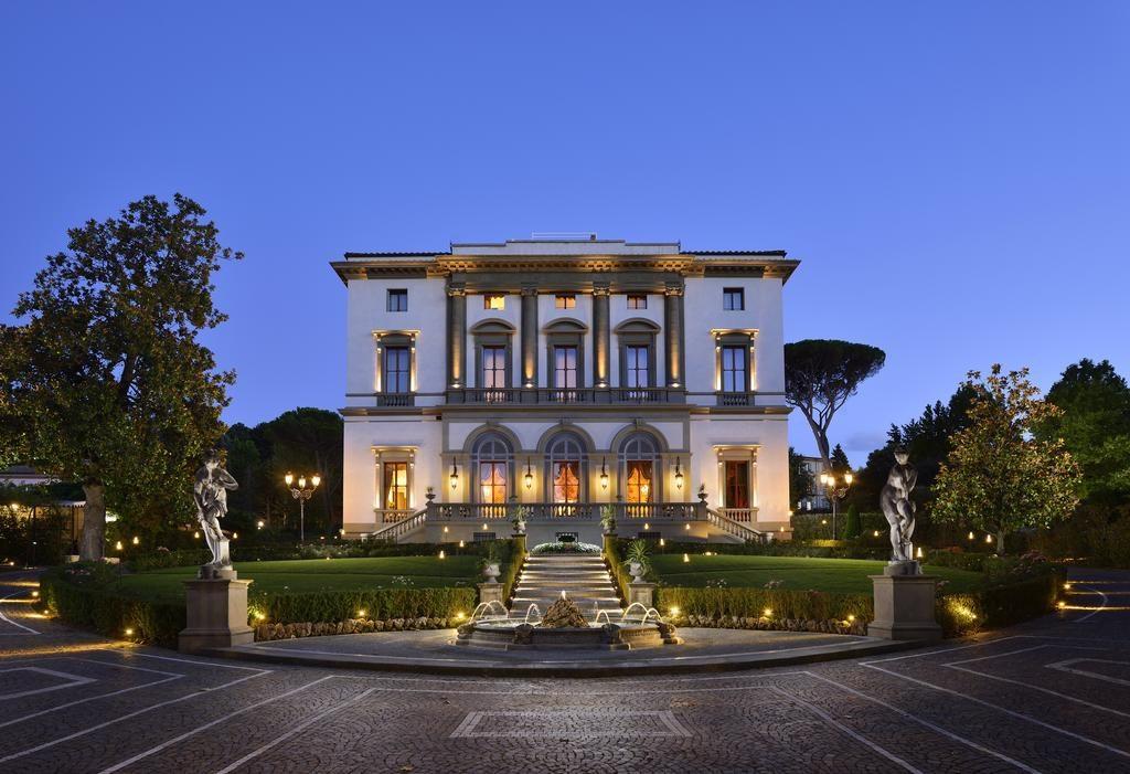 Villa Cora, Florencie: v zahradě kousek od centra
