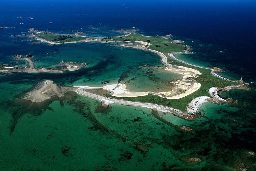 Bretaň: ostrov kousek od Pobřeží růžové žuly