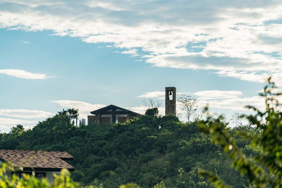 Nekupe, Nikaragua: prostor pro rozjímání pro lidi bez rozdílu víry