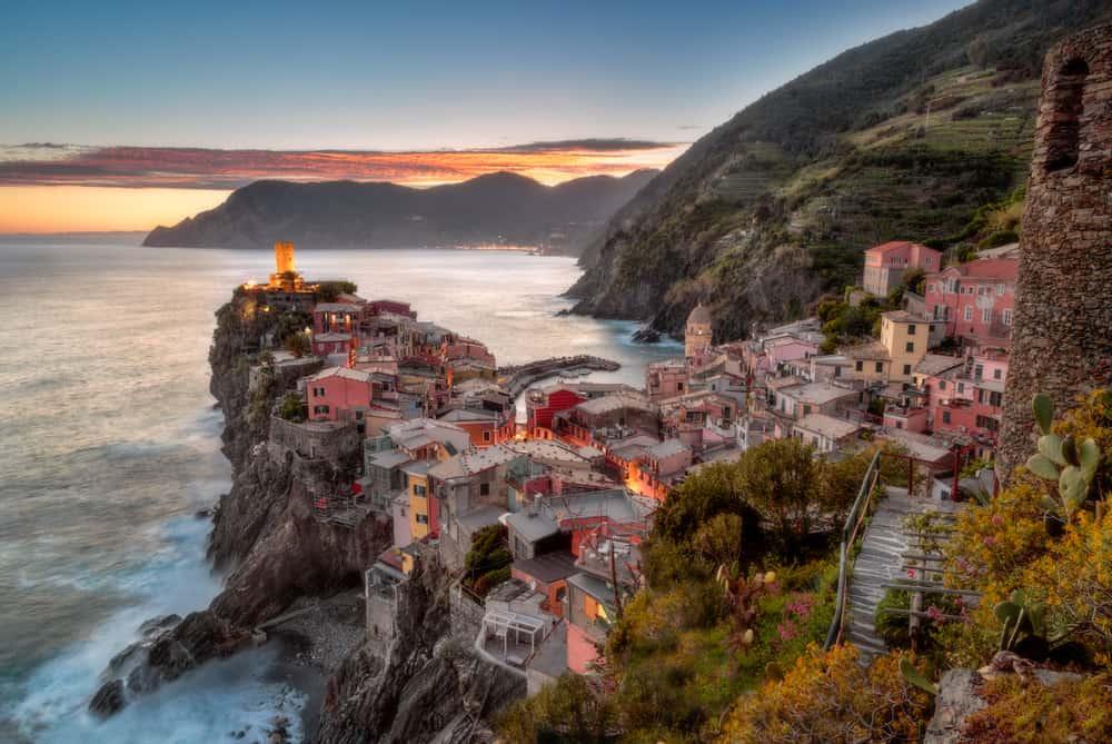 Itálie, Vernazza, Cinque Terre