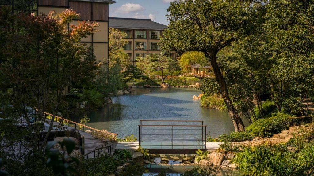 Four Seasons, Kjóto: tradiční japonská zahrada