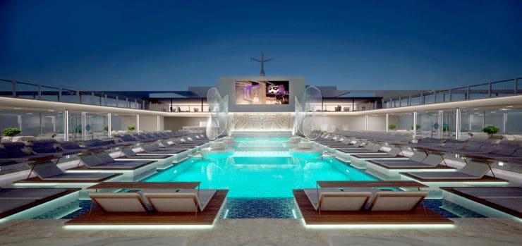 MSC Meraviglia, hlavní bazén