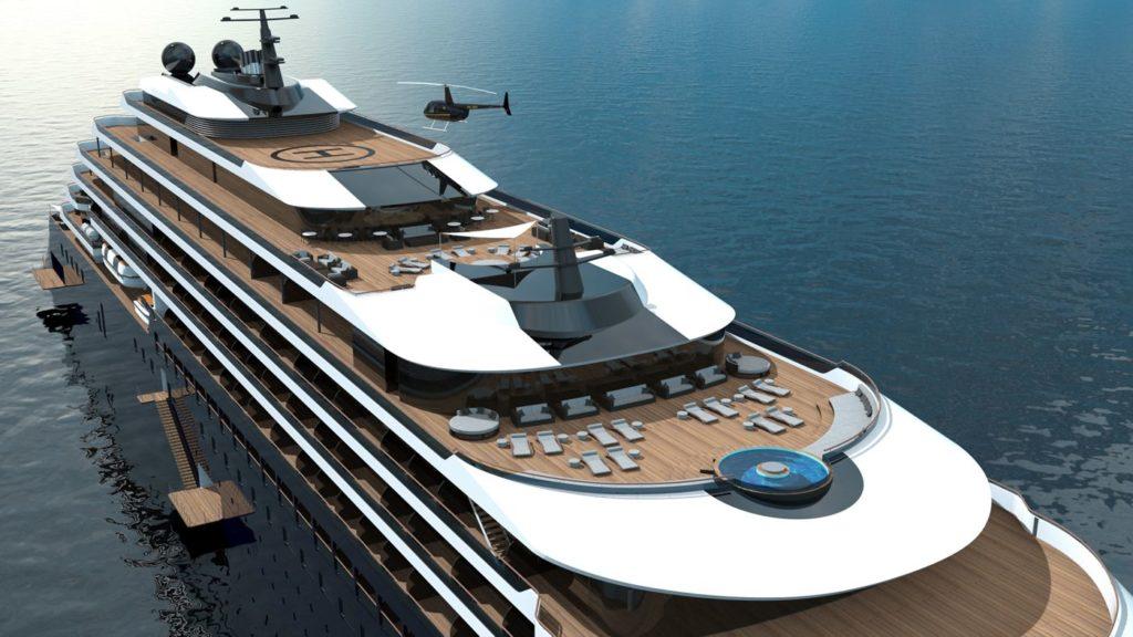 Jachta Ritz-Carlton pojme 149 hostů