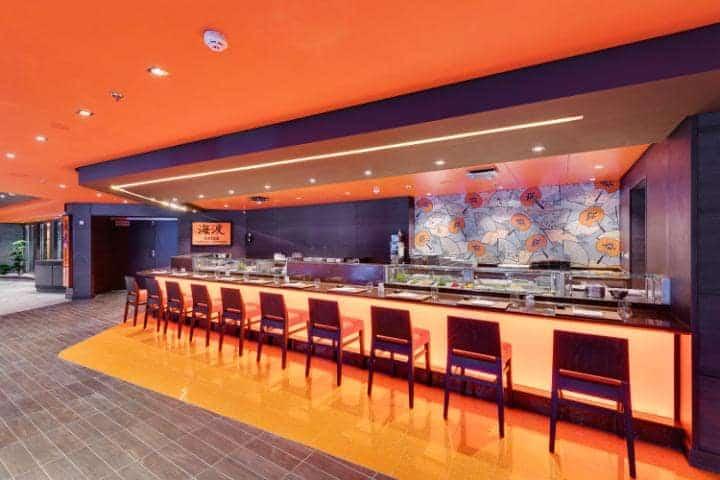 MCS Meraviglia: sushi bar