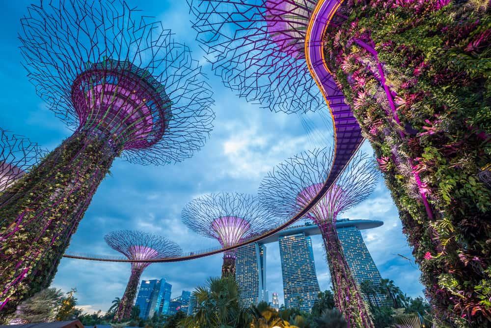 Singapur, zřejmě nejčistší velkoměsto světa