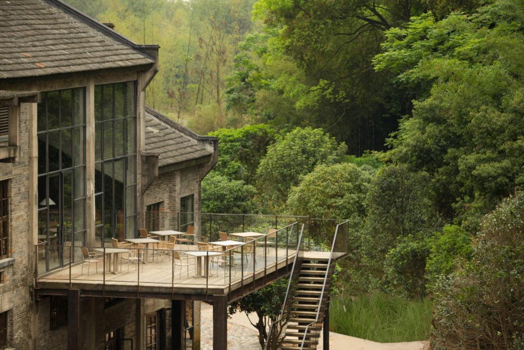 Alila Yangshuo, Čína: restaurace Sugar House