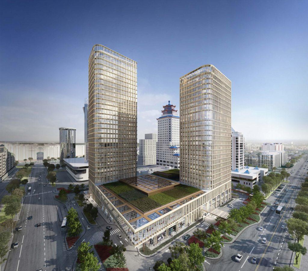Astana, Kazachstán: hotel Ritz-Carlton