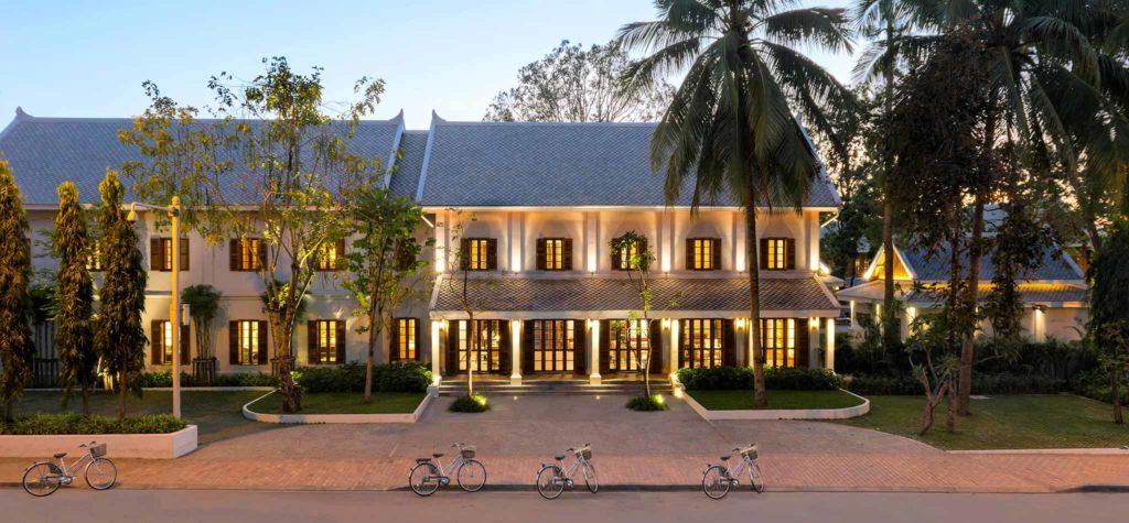 Azerai, Luang Prabang: jednoduchostí designu vychází z koncepce Amanu