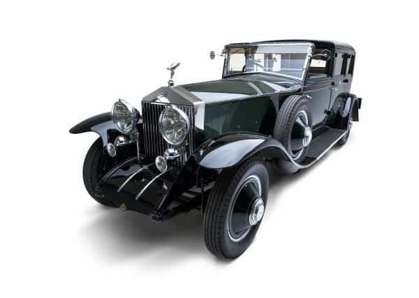 Rolls-Royce Phantom, s nímž jezdil Fred Astair