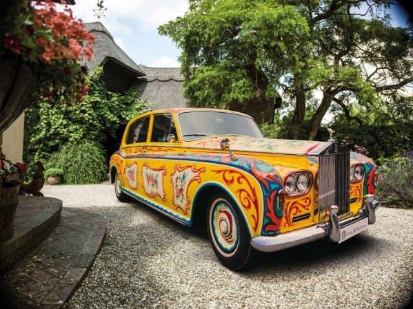 Rolls-Royce Phantom, s nímž jezdil John Lennon