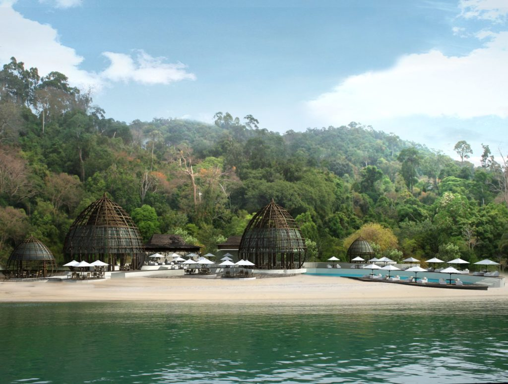 Ritz-Carlton, Langkawi: život mezi džunglí a pláží