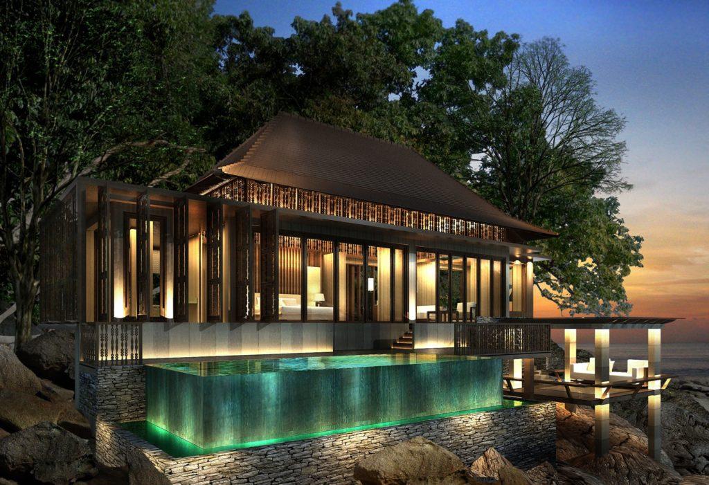 Ritz-Carlton, Langkawi: vila s bazénem