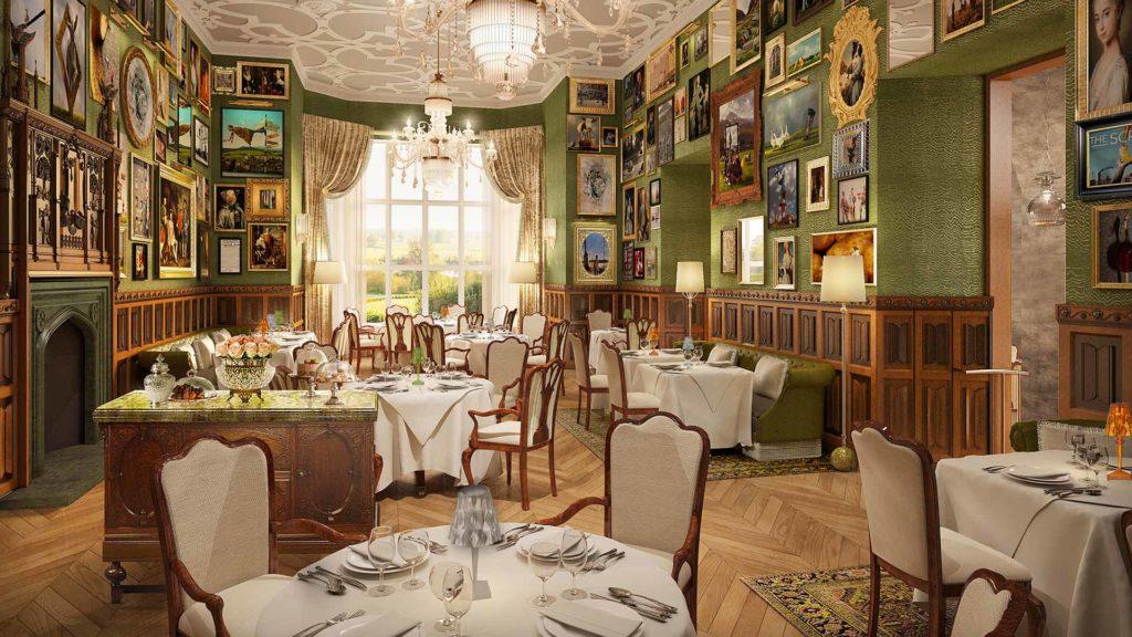 Adare Manor, Irsko: jídelna