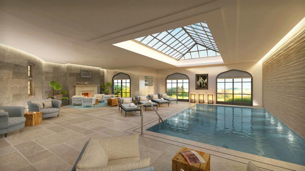 Adare Manor, Irsko: bazén