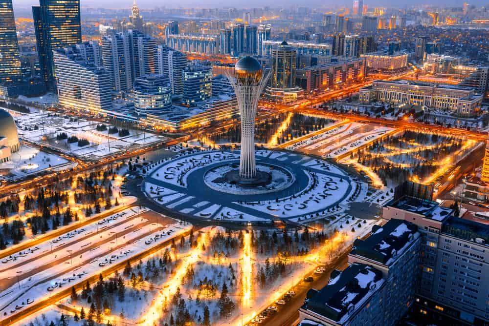 Astana, Kazachstán