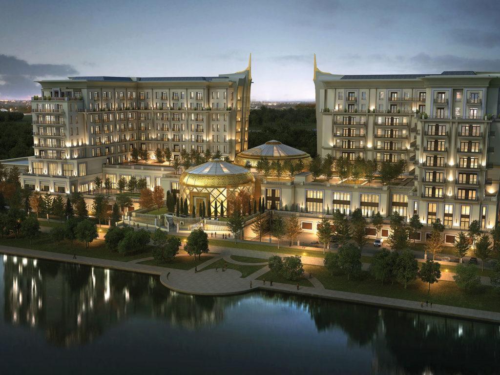 Astana, Kazachstán: hotel St. Regis