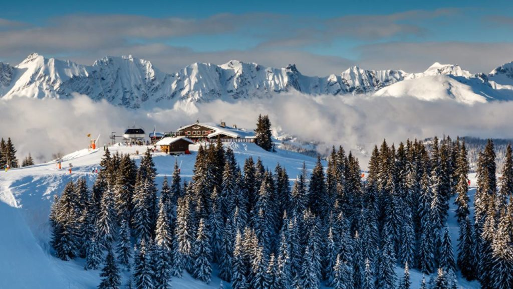 Four Seasons Megève: sám na svazích Mont d`Arbois
