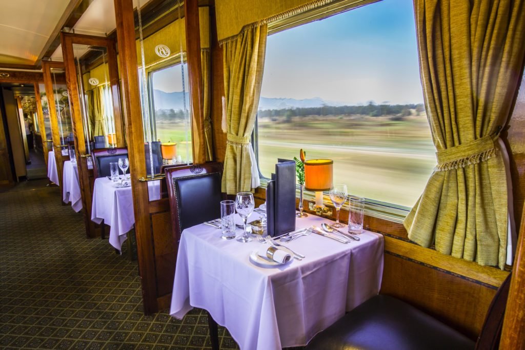 Jižní Afrika, Blue Train, cesta z Kapského Města do Pretorie