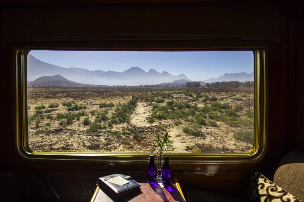 Jižní Afrika, Blue Train, když zrovna nehodujete, máte se pořád na co dívat