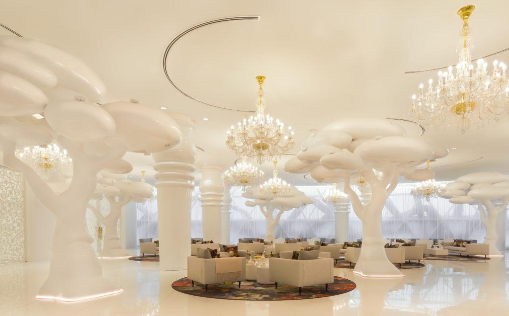 Mondrian, Dauhá: lounge