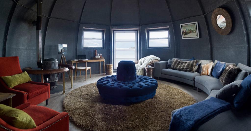 White Desert, Antarktida: přibyl nový lounge s barem