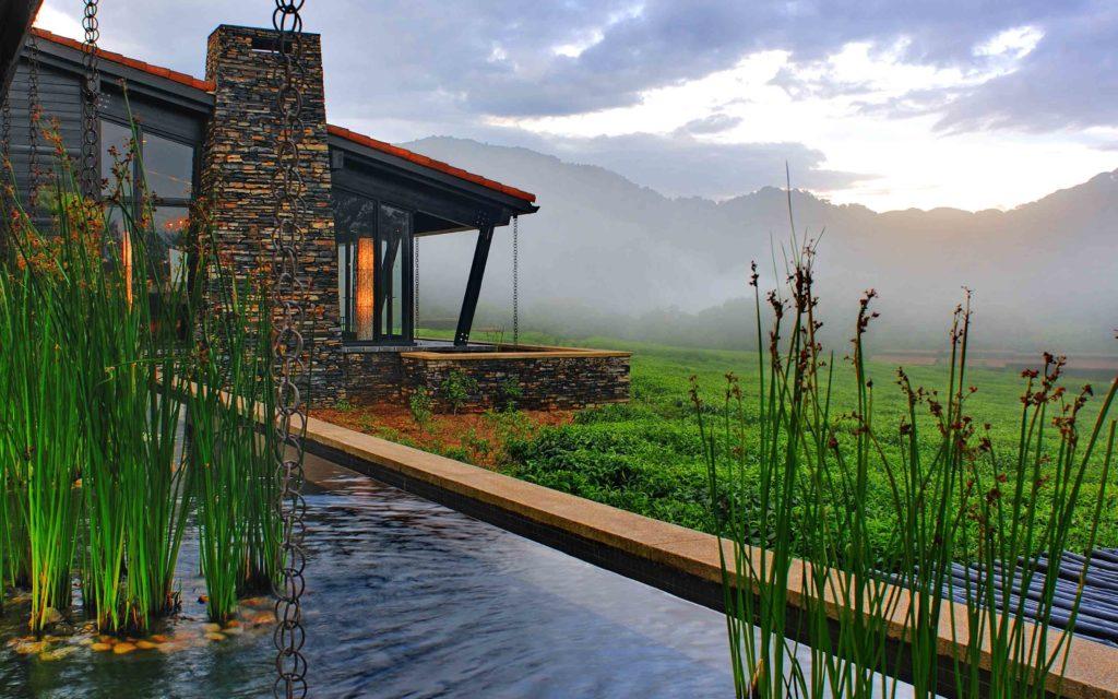 One & Only Nyungwe House, Rwanda: mezi čajovou plantáží a pralesem