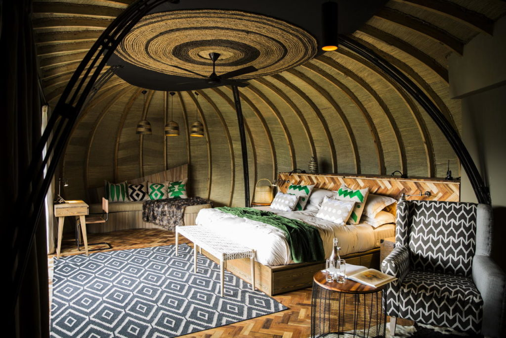 Bisate Lodge, Rwanda: ložnice