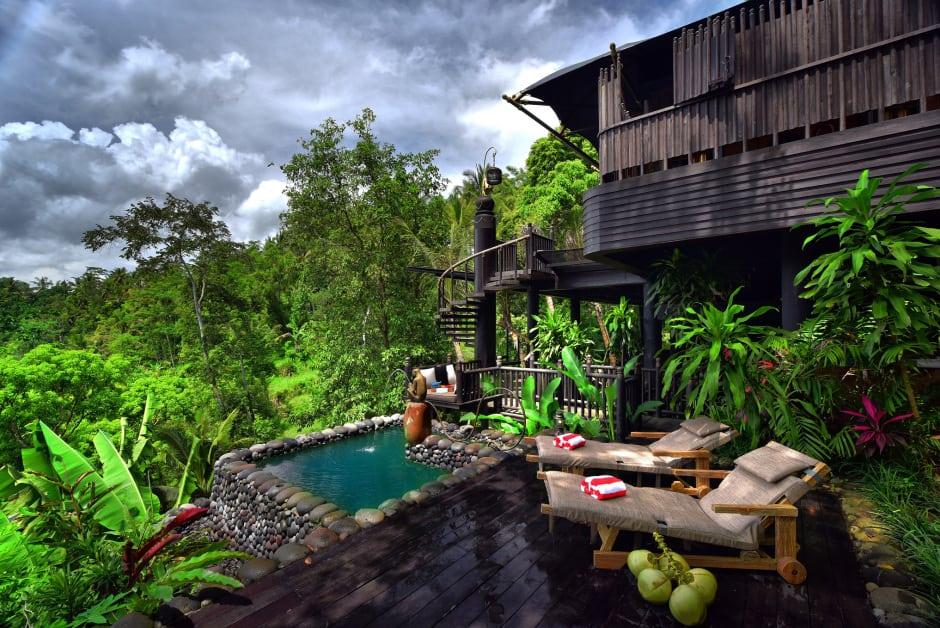 Capella Ubud, Bali: každý stan má bazén