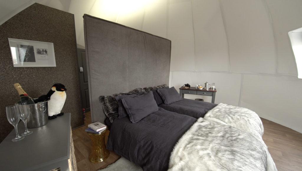 White Desert, Antarktida: ložnice