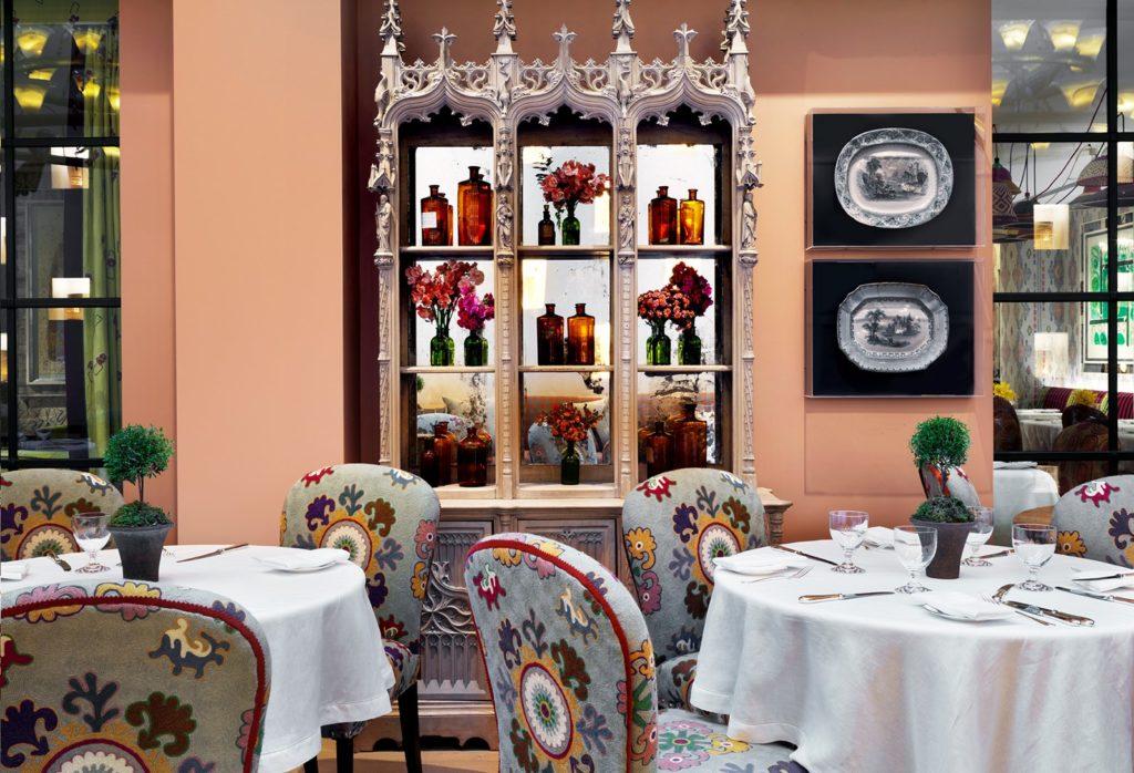 The Whitby Hotel, NY: odpolední čaj v Oranžérii