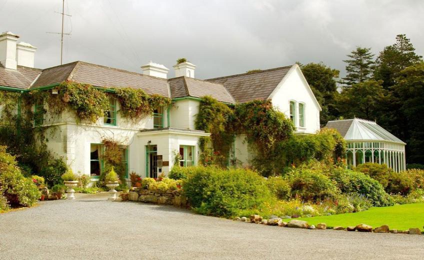Cashel House, Roundstone: můžete si tu i zajezdit na ponících