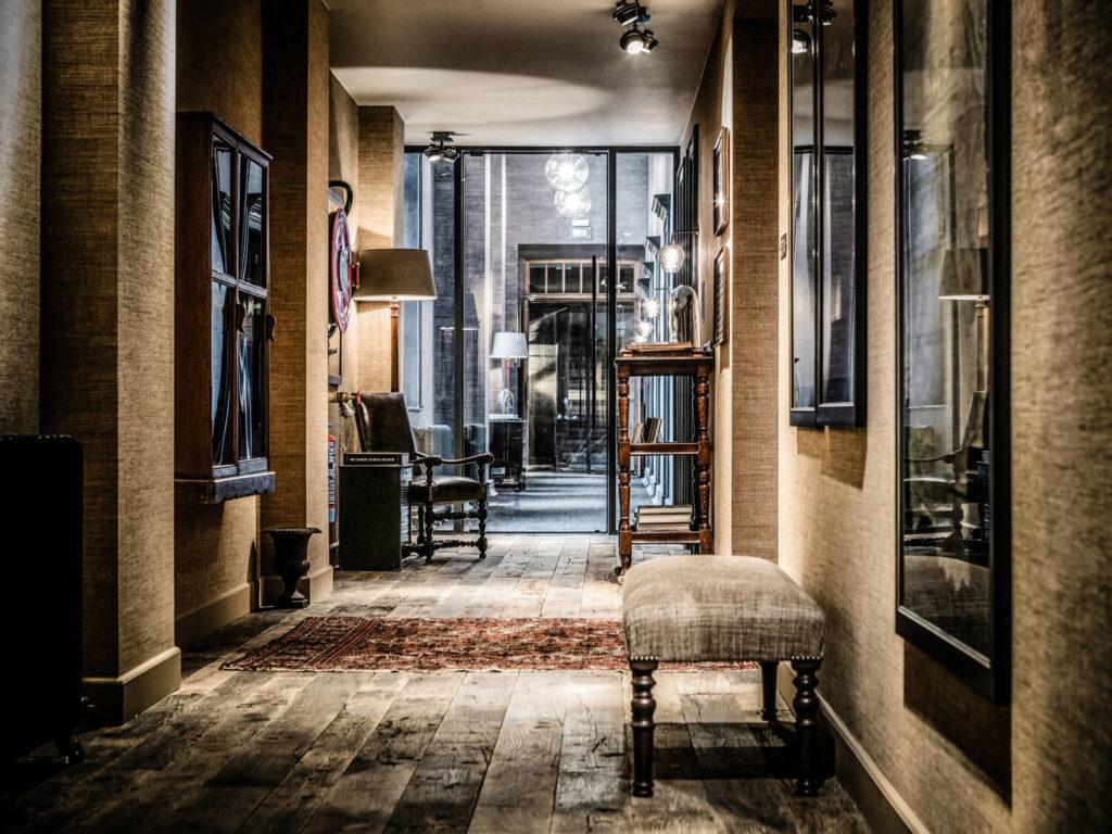 1898 The Post, Gent: procházka po hotelu