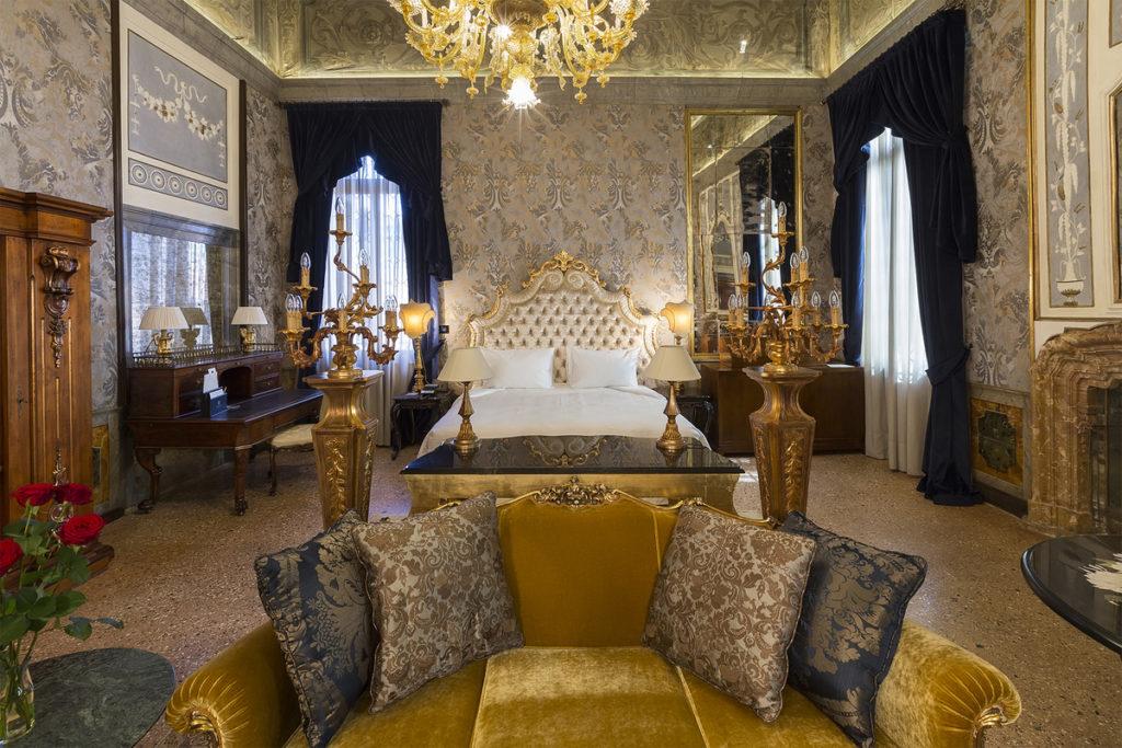 Palazzo Venart: aristokratické prostředí