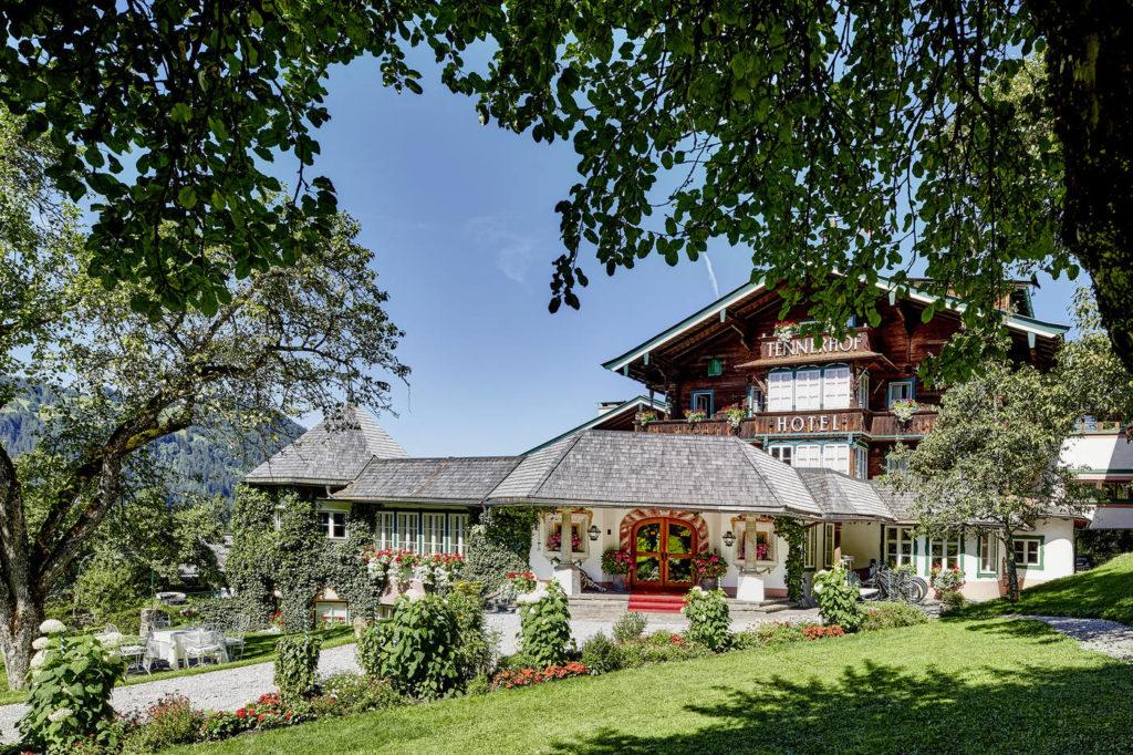 Tennerhof, Kitzbühl: zázemí pětihvězdičkového hotelu