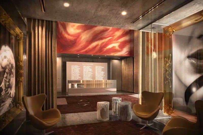 Mondrian, New York: hotel plný uměleckých děl