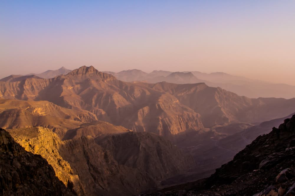 Džabal Bil Ajs, tudy někudy povede od prosince nejdelší zipline světa