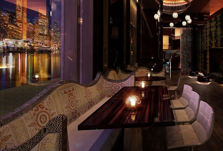 St. Regis, Káhira: design nočního baru útočí na všechny smysly